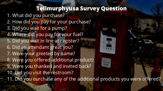 Tellmurphyusa Survey Question